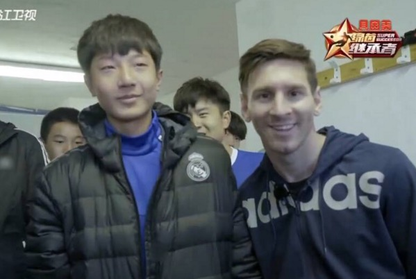 Remaja China biadab tak sambut salam Lionel Messi