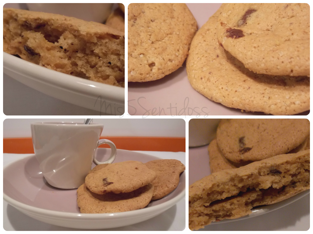 Cookies con chocolate en Thermomix