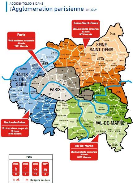 MPSRA expert en sécurité routière et écoconduite: Accidents mortels sur le périph et Paris