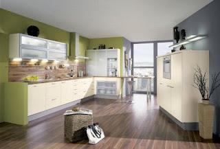 Cream Kitchen Cabinets Photo