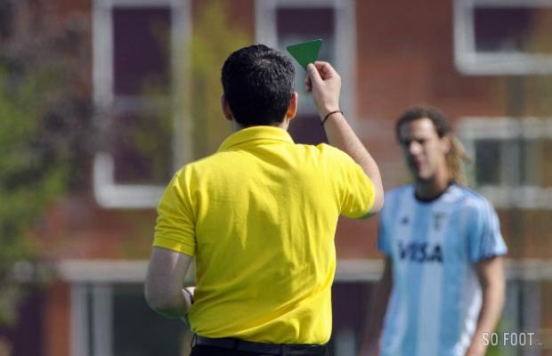 Lega Serie B a annoncé l'instauration d'un carton vert