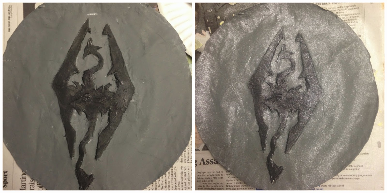 DIY Skyrim Shield