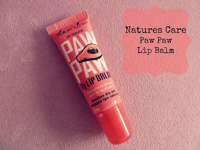 Nature S Care Paw Paw Lip Balm