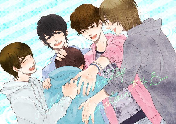 [FanArt] SHINee en general :3 248957_164379016960585_100001654638428_433776_4145387_n