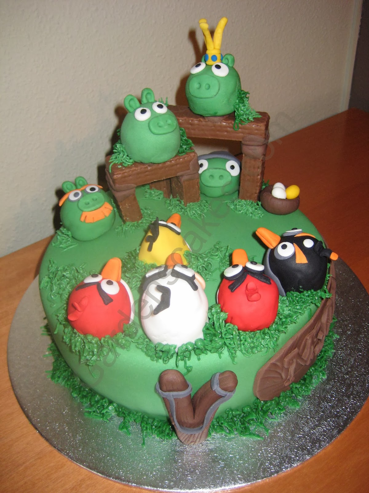 Garden´s Cakes: CUMPLEAÑOS DE MARCOS