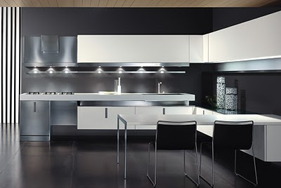 Decoraci n de interiores 15 cocinas modernas italianas for Cocinas italianas modernas