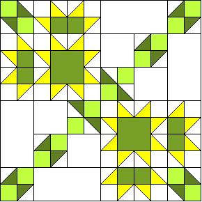 Attic Window Quilt Patterns - Simple Quilt Blocks