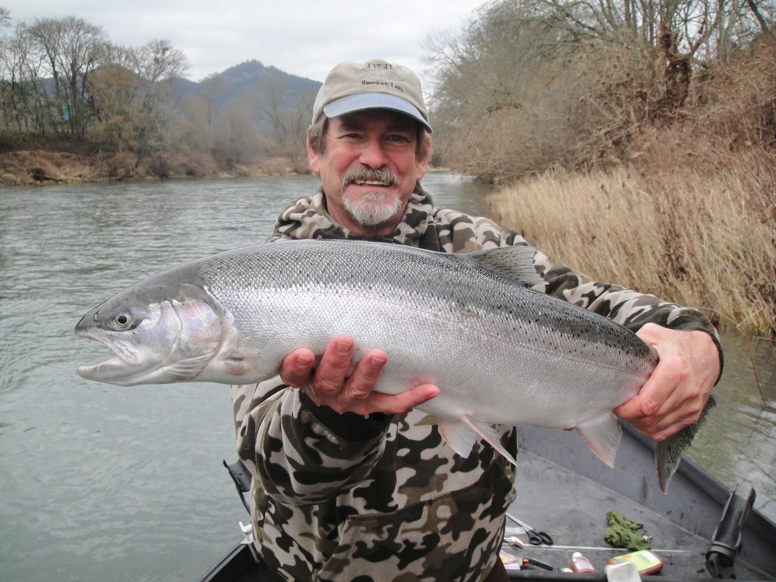 S umpqua steelhead rogue river fishing guides fishing for Rogue river fishing guides