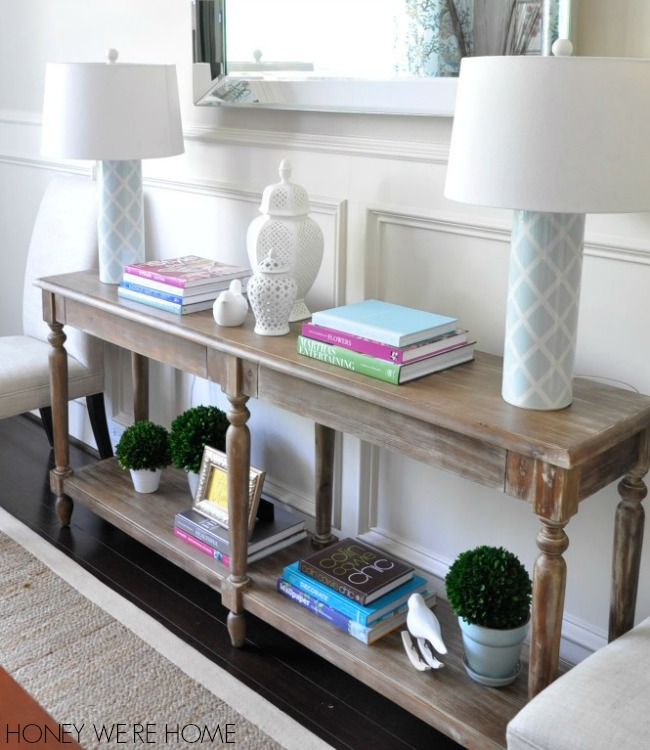 Foyer Dining Table : Honey we re home springy dining room world market