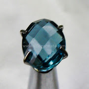 Batu Permata London Blue Topaz - SP986