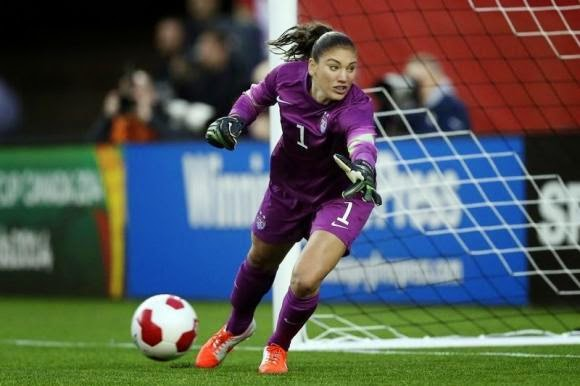 Hope Solo was Suspended from the United States Women's National Team for 30 Days