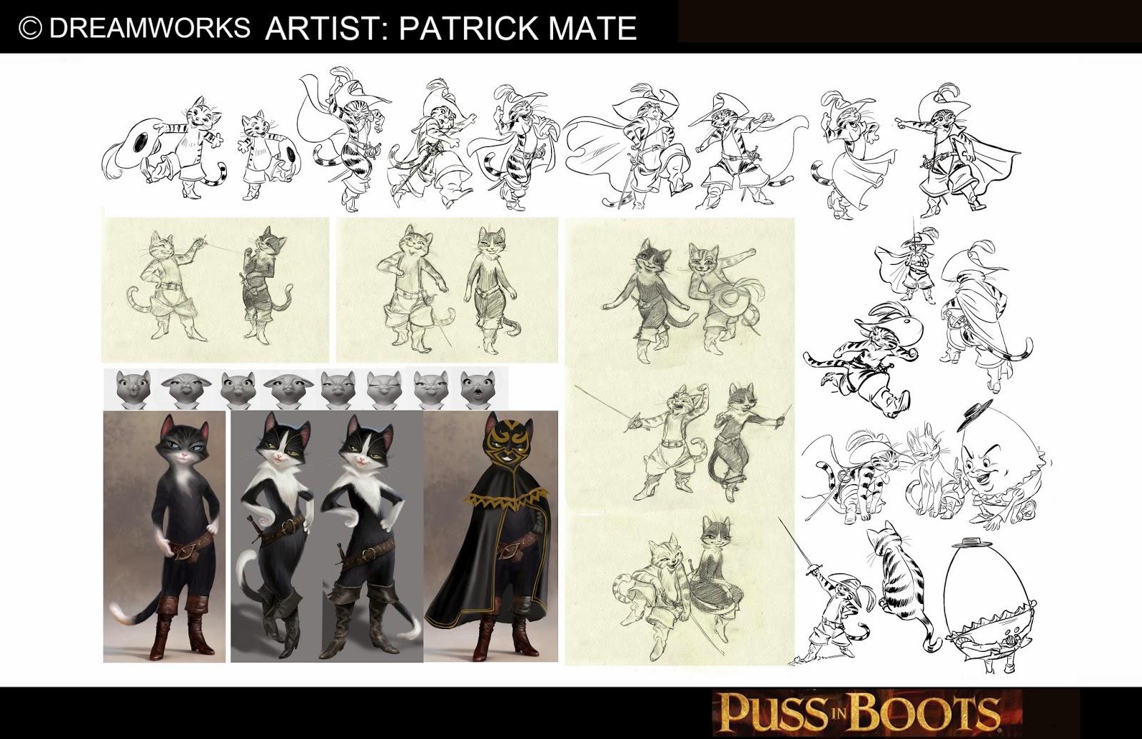 Character Design Portfolio : Patrick mate character design portfolio