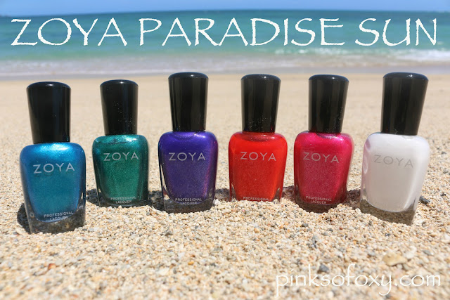 Zoya Paradise Sun Summer 2015 Collection