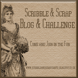 Vist My Scribble & Scrap Blog.  Challenge coming 15 September