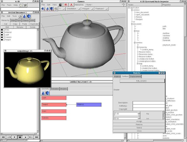 Download K-3D-Animation Software