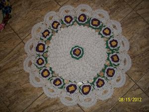 rose croche