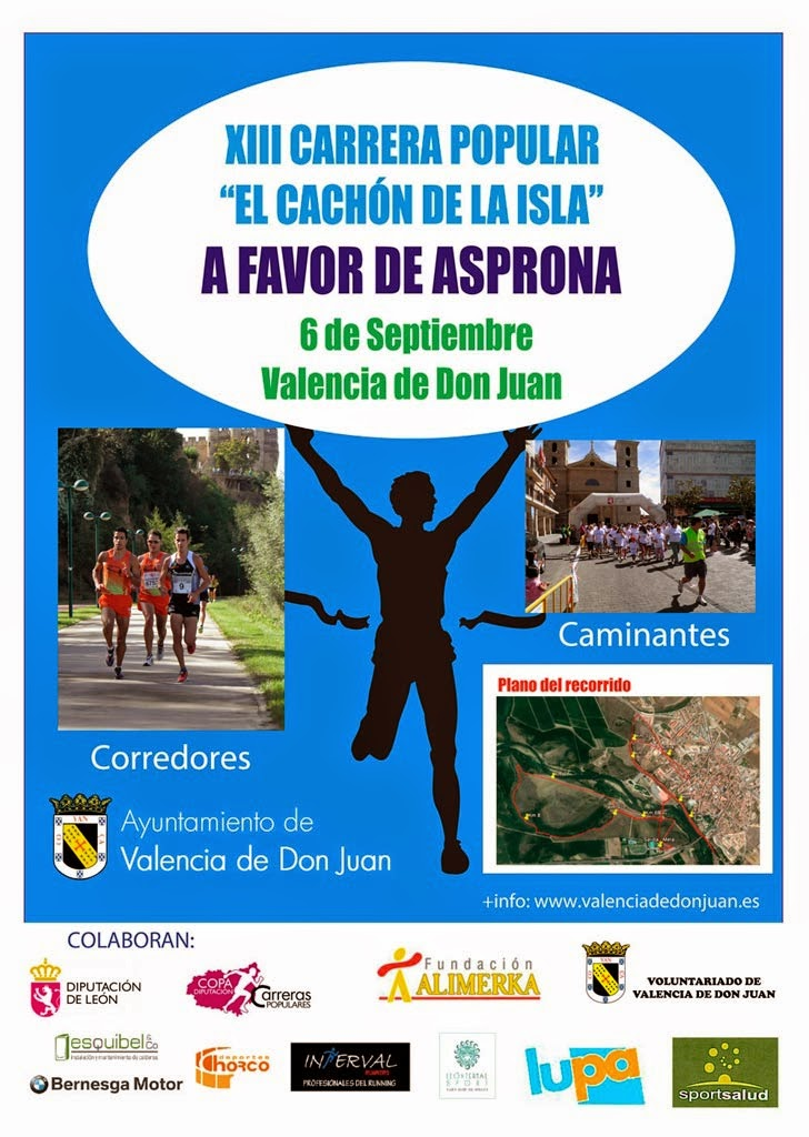 Media maraton leon carrera valencia de don juan del cachon for Piscinas leon valencia don juan