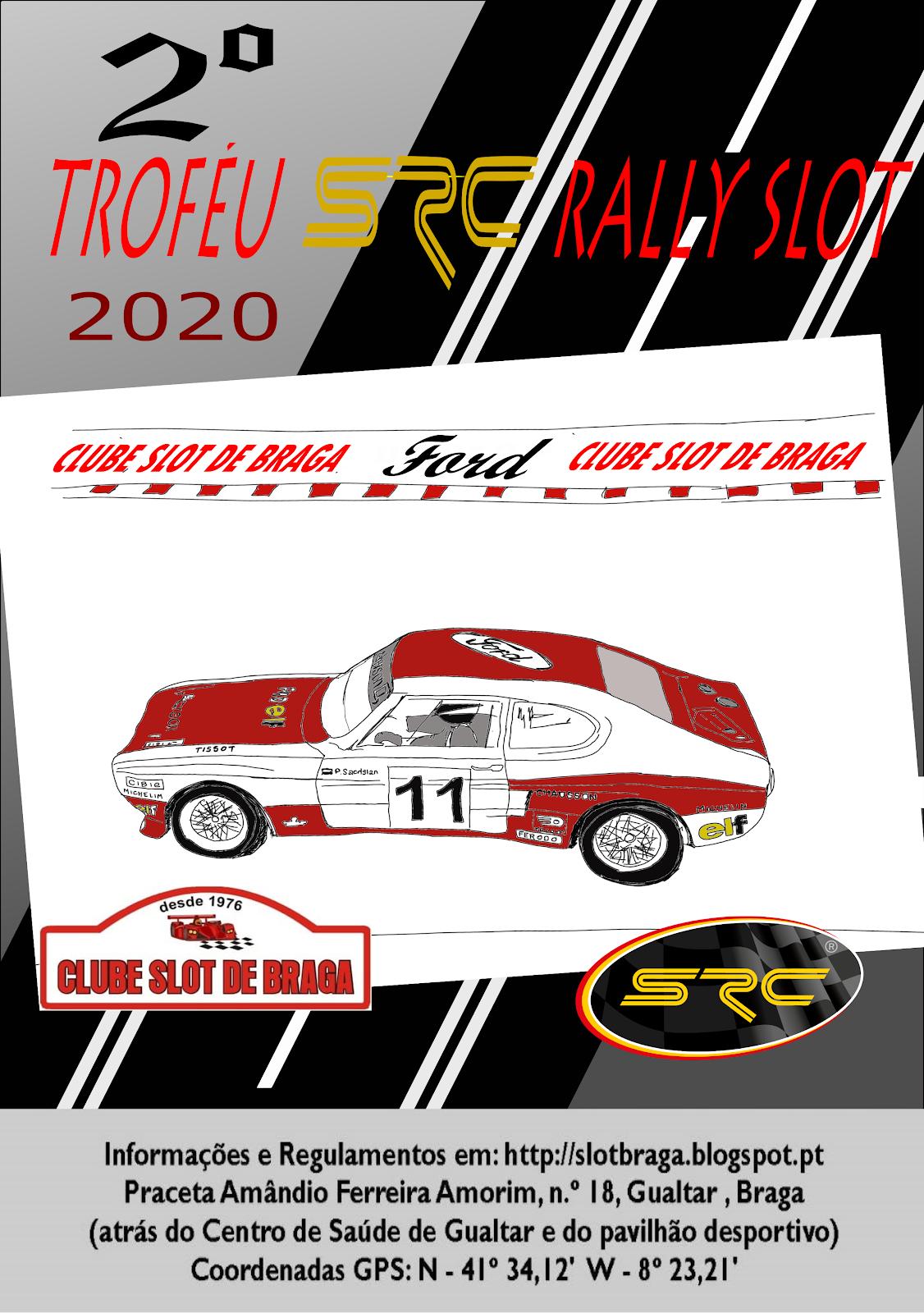 2.º Troféu SRC Rally Slot 2020