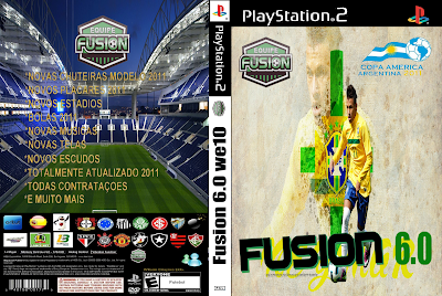 Capa 2BFusion 2B6  Download Jogo Bomba Patch Fusion 6.0 PS2