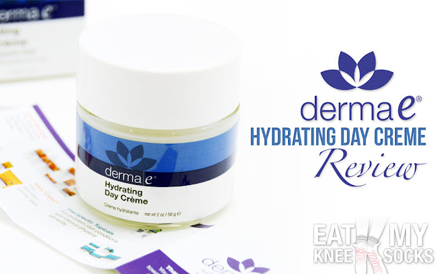 Today I'm reviewing Derma E's hydrating day crème with Hyaluronic Acid, an ultra-hydrating moisturizer that's said to soften and smoothen skin.