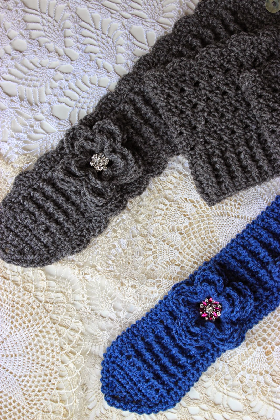 Free Crochet Ribbed Headband Patterns : Krissys Wonders : Free Crochet Pattern for a Ribbed Headband