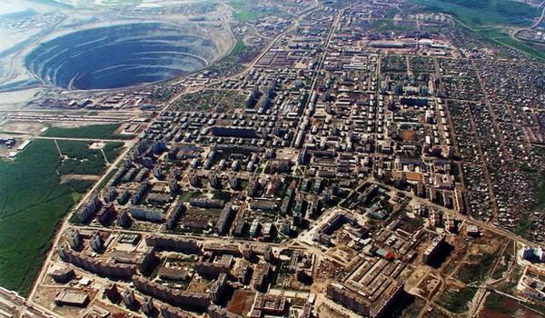 Mir Mine, Rusia
