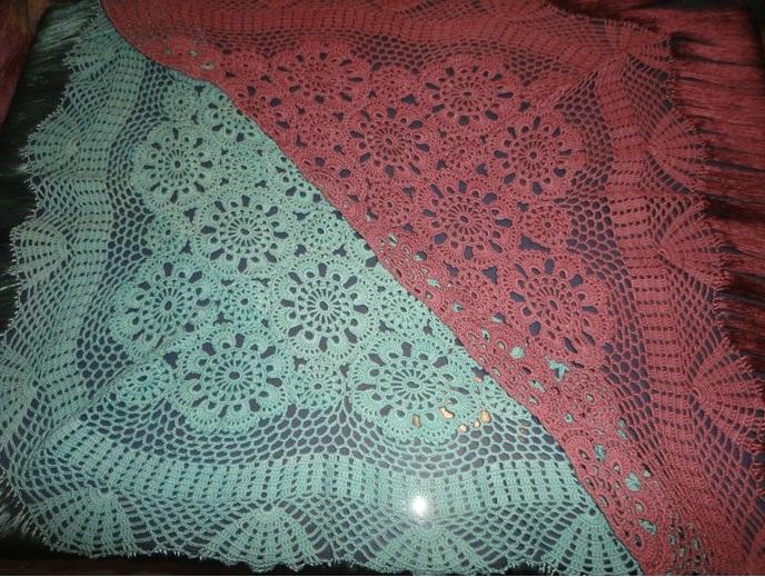Patrones mantoncillos de crochet - Imagui