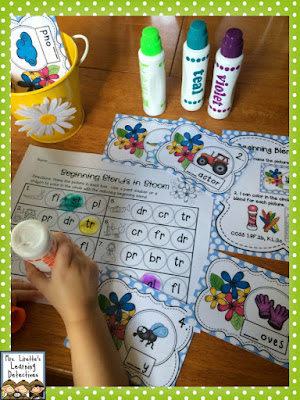 Blends in Bloom- A FREE CCSS ELA Activity
