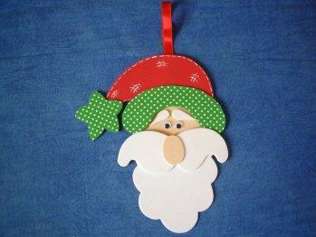 Las chorradikas de laury adorno rbolde navidad fieltro - Marqueteria para ninos ...