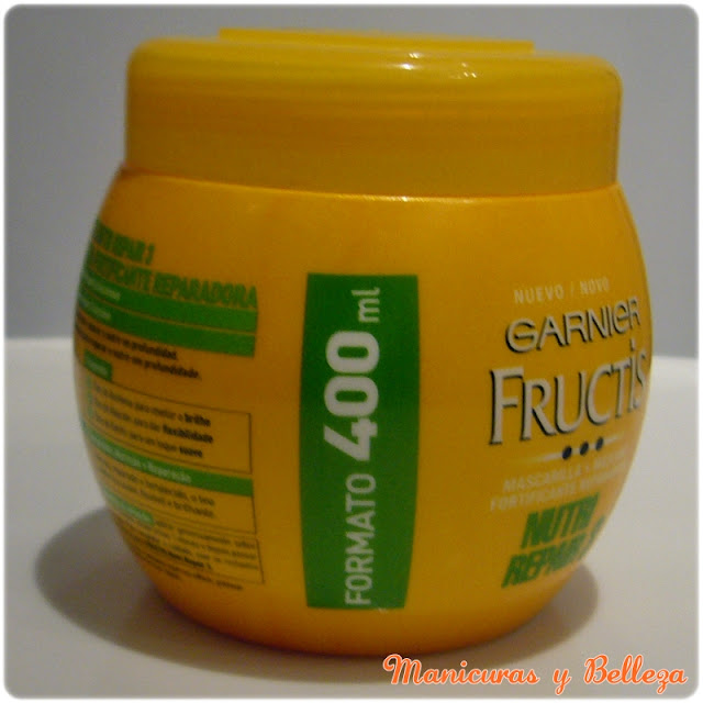 mascarilla nutri repair 3 garnier fructis review