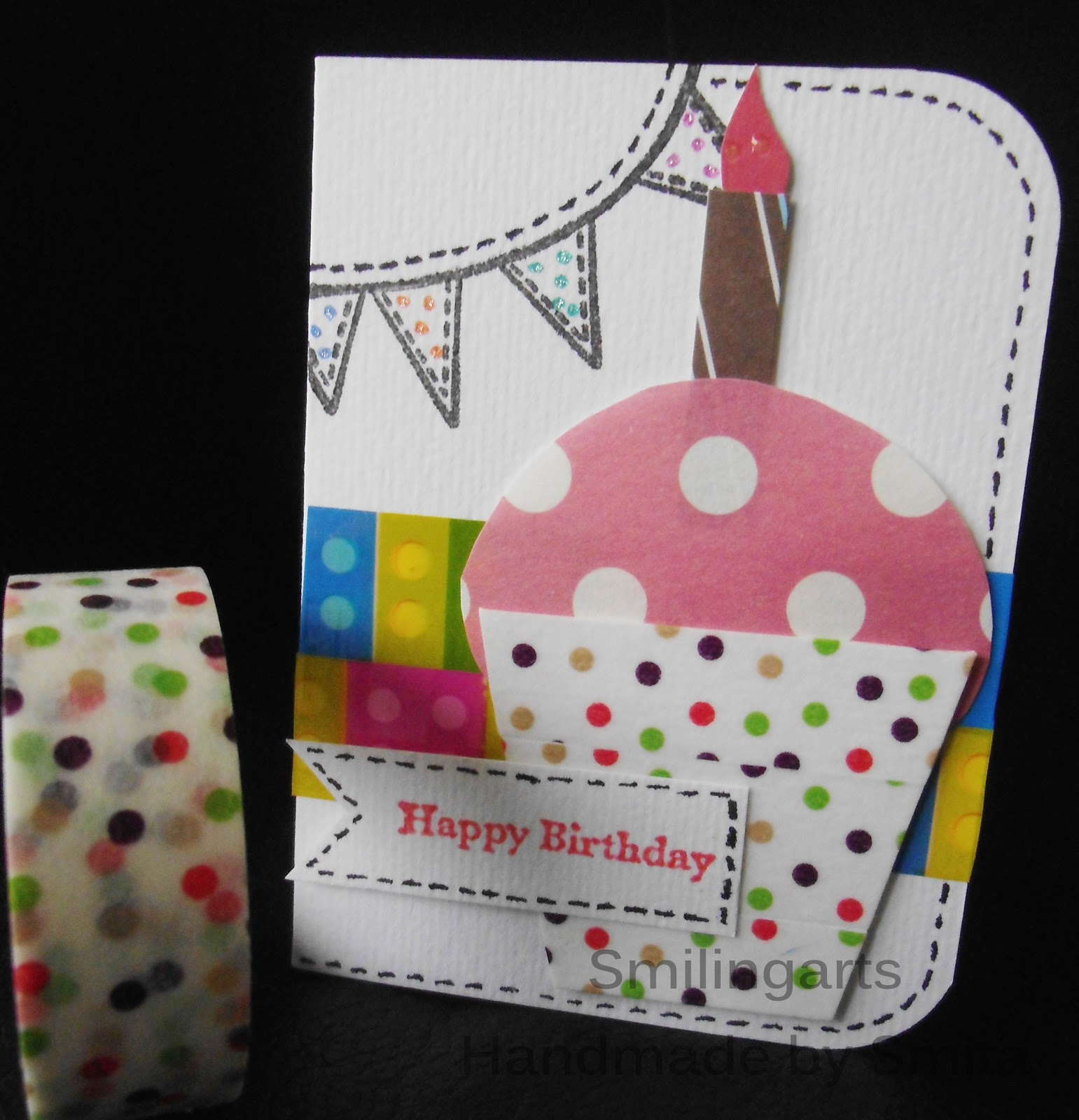 Cake Images Satish : Smilingarts: Happy birthday card1