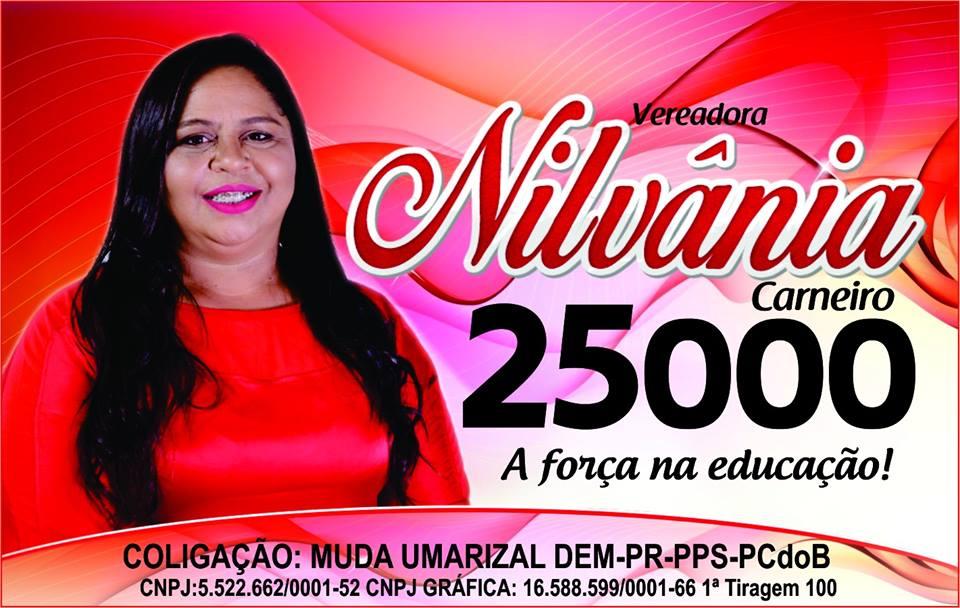 PARA VEREADORA NILVÂNIA CARNEIRO