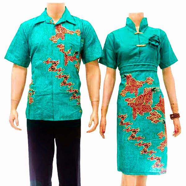Baju Batik Pasangan Modern
