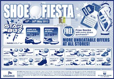Shoes Fiesta Sale 2012