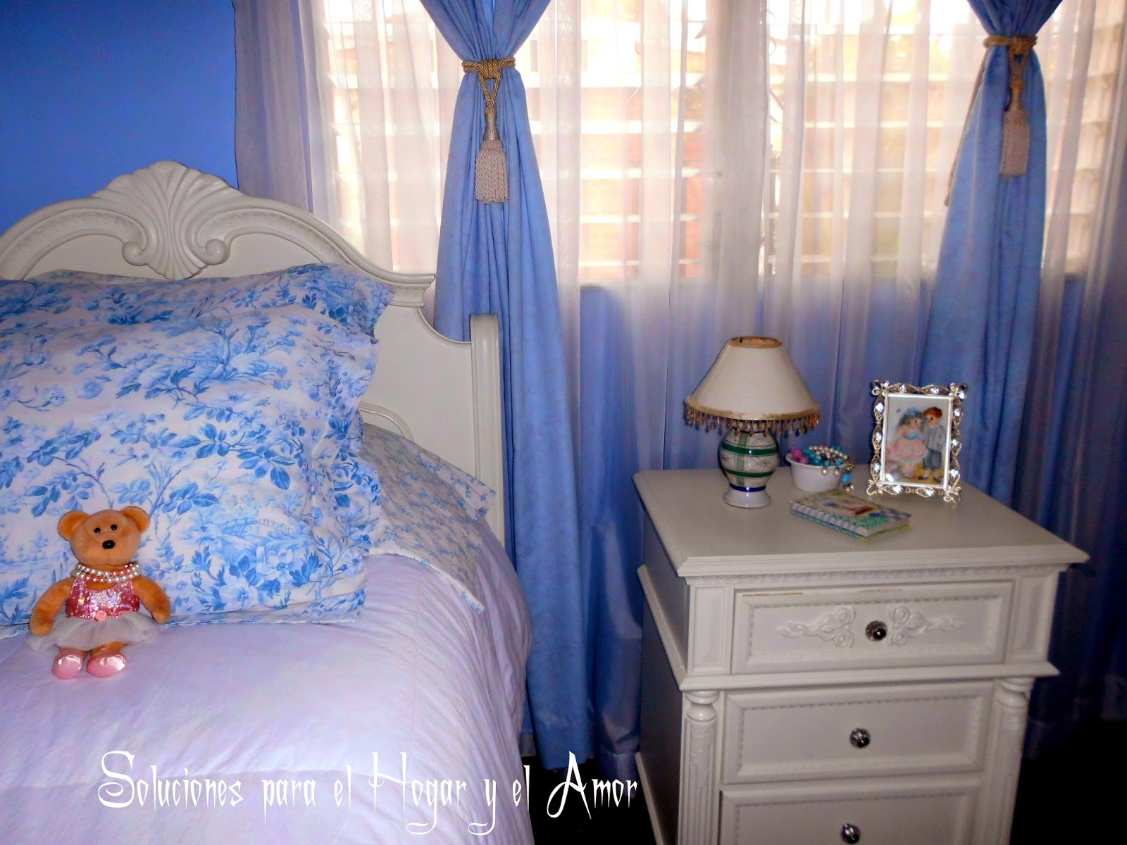 Decoración dormitorio para una joven