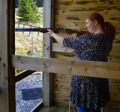 Laser Clay Shooting at The Calvert Trust, Kielder - A review