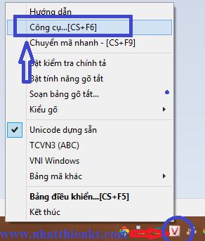 Sử dụng Unikey chuyển đổi font chữ quá đơn giản