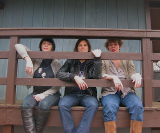 The Caulfield Sisters: Interview with Cindy Wheeler // Show at The Gutter in Williamsburg on Feb. 18th