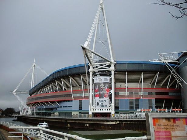 Millennium Stadium in Cardiff, Wales