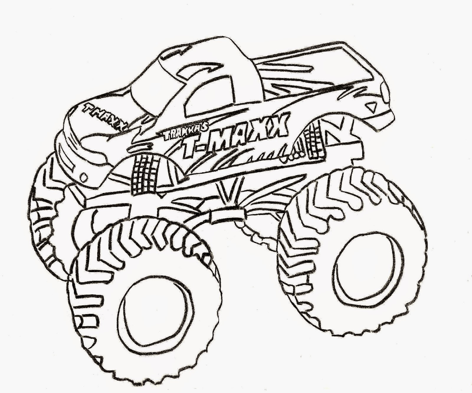 Coloring Pictures Of Trucks Free Coloring Pictures