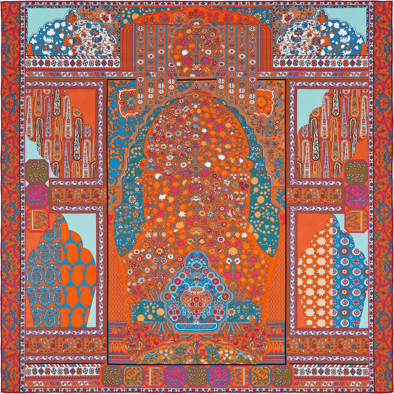 love bags hermes tapis persans hermes silk shawl silk. Black Bedroom Furniture Sets. Home Design Ideas