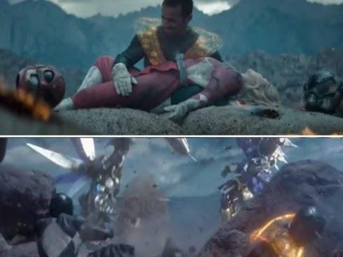 Filem Power Rangers penuh keganasan
