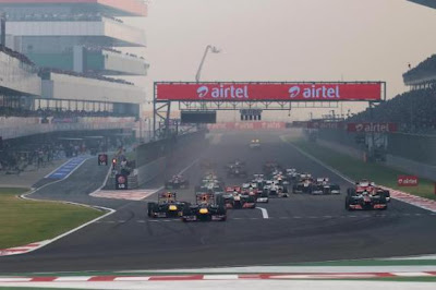 Salida del GP de India