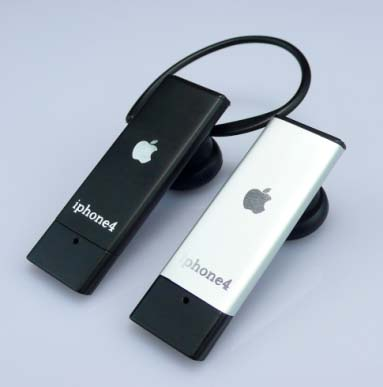 apple goodies iphone 4 apple bluetooth headset. Black Bedroom Furniture Sets. Home Design Ideas