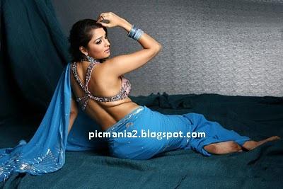 actress nikitha hot saree bikini pic and cleavage gallery
