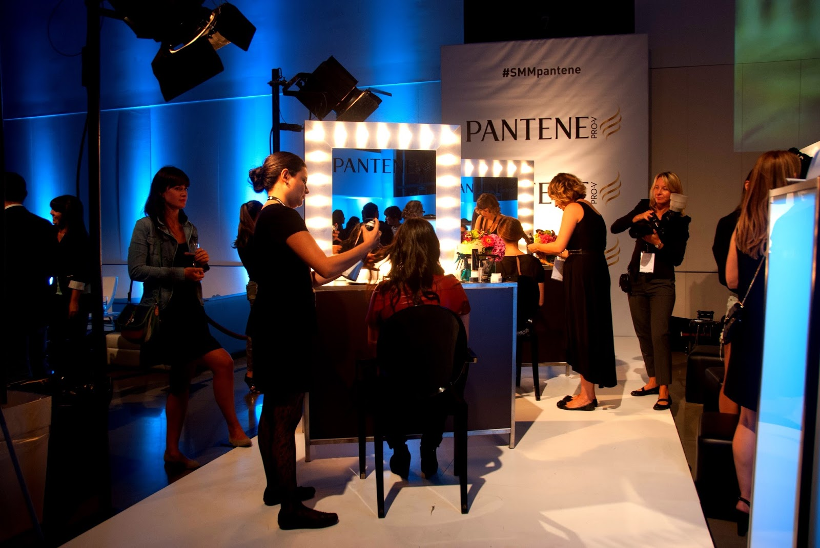 fashion week pantene hair hairstyle montreal