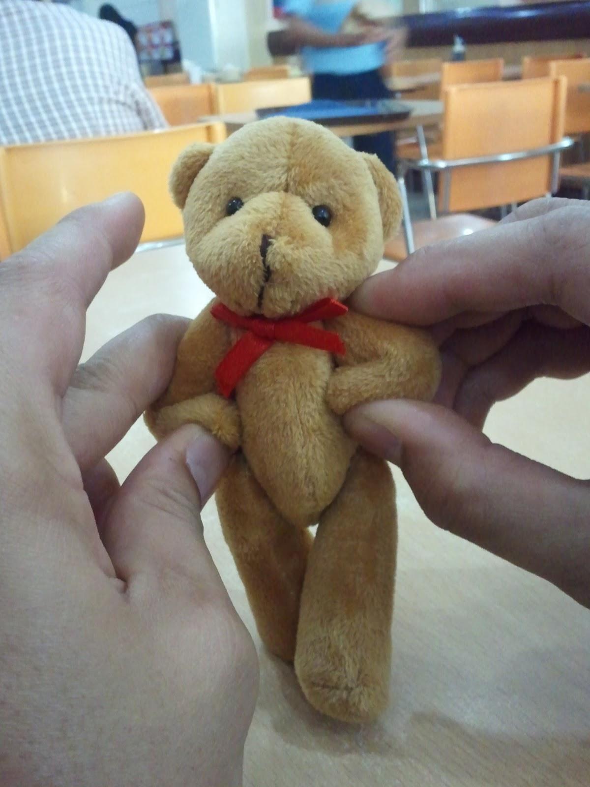 Teddy bear Crimson