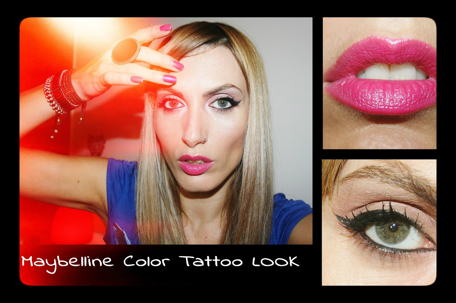 Michelaismyname maybelline color tattoo look for Color tattoo maybelline
