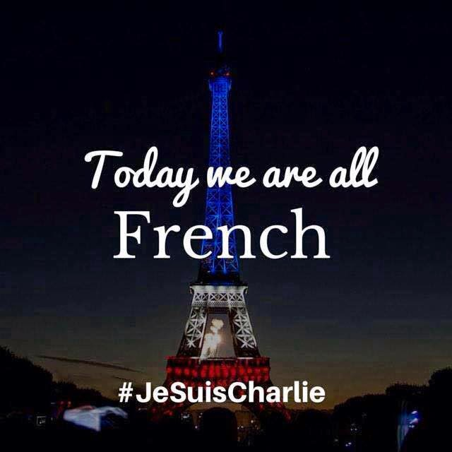 Today we are all French