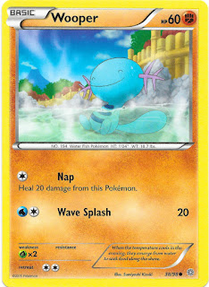Wooper Ancient Origins Pokemon Card